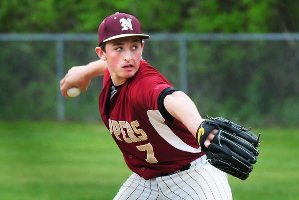 BRYAN EATON/Staff Photo. Newburyport pitcher Scott Webster.