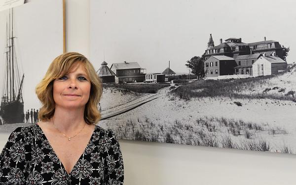 BRYAN EATON/Staff Photo. Newburyport DPS business manager Lisa Valcich.