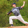 JIM VAIKNORAS/Staff photo Triton's David Leavitt pitches against  Essex Tech Saturday at Triton.
