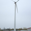JIM VAIKNORAS/Staff photo The wind turbine at Mark Richie in Newburyport.