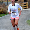 Amesbury: Cider Hill 5K Trail Run winner Kathleen Michaud. Jim Vaiknoras/staff photo