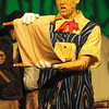 West Newbury: Connor Durkin as Pinocchio in the Pentucket high school production of Shrek the Musical. Jim VAiknoras/staff photo