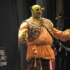 West Newbury:Kevin Lundy as Shrek in the Pentucket high school production of Shrek the Musical. Jim VAiknoras/staff photo