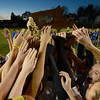 Worcester:Newburyport's girl soccer team celebrates their 1-0 victory over Granby at Foley Stadium in Worcester, giving them the Division 3 State Championship. Jim Vaiknoras/staff photo