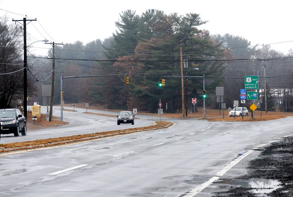 Salisbury: Intercetion of Rt 1 and Toll Road in Salisbury heading north, preposed site of a new rotary. Jim Vaiknoras/staff photo
