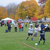 Byfield: Mid Cape plays Cardinal Cushing in the Special Olympics Massachusetts' Fall Soccer Tournament at the Governor's Academy Sunday morning. Jim Vaiknoras/staff photo