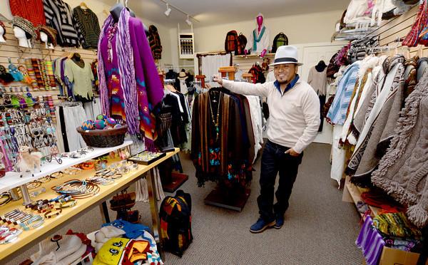 newburyport: ...at his store Yarina on Inn Street in Newburyport. Jim Vaiknoras/staff photo
