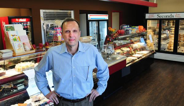 Newburyport: Mike Knowles, CEO of Dianne's Fine Desserts. Bryan Eaton/Staff Photo