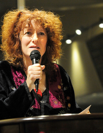 Newburyport: Featured speaker Linda Werbner speaks about her adopted city of Lynn. Bryan Eaton/Staff Photo