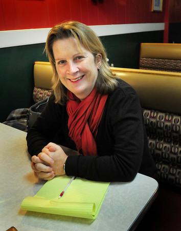 Newburyport: Writer Aine Greaney hails from Ireland. Bryan Eaton/Staff Photo