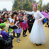 "Amesbury: The annual Halloween Parade at the Cashman School had a twist for parents at the end of the show. School music teacher Johanna Kimball, dressed as Glinda, led the students to Michael Jackson's ""Thriller"" in what they called a ""Halloween Flash Mob."" Bryan Eaton/Staff Photo"