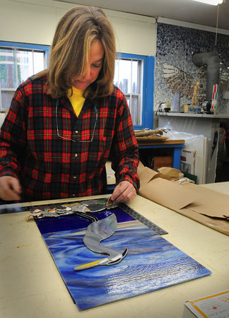 Amesbury: Leslie Doherty's Potlatch Studio and Gallery will be on the Open Studio Tour in Amesbury. Bryan Eaton/Staff Photo