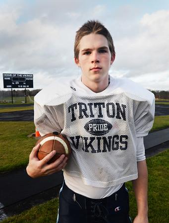 BRYAN EATON/ Staff Photo. Triton's Justin Cashman.