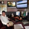 BRYAN EATON/ Staff Photo. Amesbury Police Department public safety clerk Lisa Little.