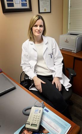 BRYAN EATON/ Staff Photo. Dr. Andrea Rollins.