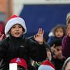 JIM VAIKNORAS/Staff photo Kids count down to tree lighting in Market Square in Newburyport.