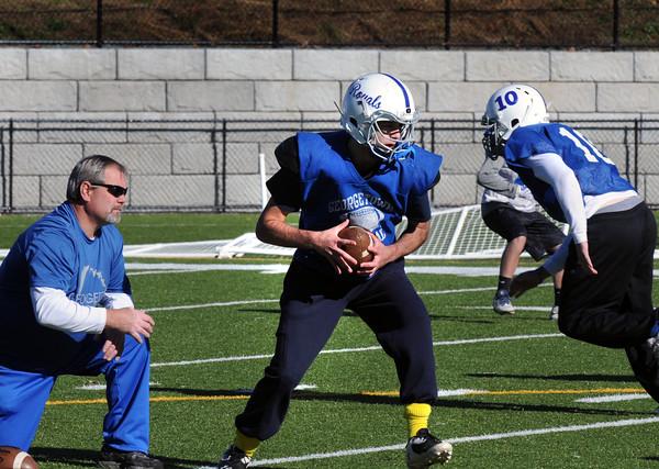 BRYAN EATON/Staff Photo. Georgetown quarterback Jimmy Sherman.
