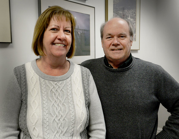 BRYAN EATON/Staff photo. Jill Brennan will be taking over as Newburyport assessor as Daniel Raycroft retires next week after 26 years on the job.