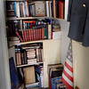 BRYAN EATON/Staff photo. Books and periodicals fill spaces around the home.