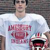BRYAN EATON/Staff Photo. Amesbury High football kicker Connor Skane is this week's Unsung Hero.
