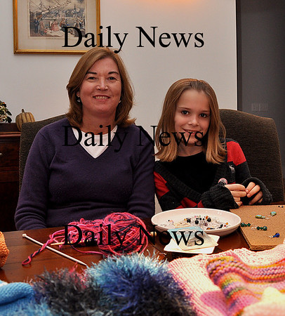 West Newbury - Pam Dodge and her daughter Christine will be selling their crafts together at the Great Pumpkin Fair at the Page School. The fair will be held on Saturday, November 7 from 8:30-3:00. Brett Languirand/Staff photo