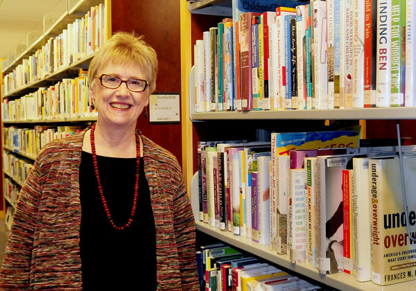 Newburyport: New Newburyport Friends of the Library president, Nancy Peace. Bryan Eaton/Staff Photo