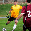 West Newbury: Pentucket goalie Cody Sedler. Bryan Eaton/Staff Photo