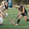 Newburyport: Newburyport's Meghan Stanton defends against Marblehead's Dimare. Bryan Eaton/Staff Photo