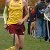 Amesbury: Newburyport's Nick Carleo comes in first in meet with Amesbury. Bryan Eaton/Staff Photo