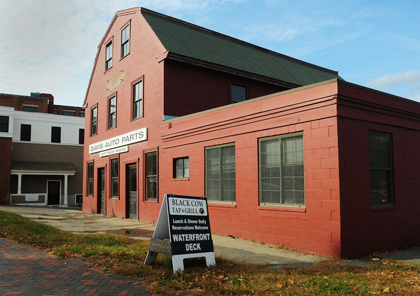 Newburyport: Site of the proposed Ale House at the bottom of Green Street and Merrimac Street in downtown Newburyport. Bryan Eaton/Staff Photo
