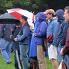 Newburyport: Newburyport soccer fans, brave the cold and damp to watch the girls team take on  Lynnfield at Cherry Hill in Newburyport Saturday. Jim Vaiknoras/staff photo