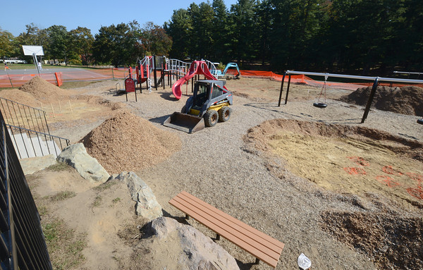 Amesbury: The playground at Amesbury Park will be worked on this weekend. Jim Vaiknoras/staff photo