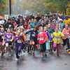 West Newbury:Runner take off in the rain at the one mile fun run at the Apple Harvest Road race in West Newbury. Jim Vaiknoras/staff photo
