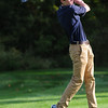 JIM VAIKNORAS/staff photo H-W Cam Grinnell tees off at the CAL open golf at Far Corners.
