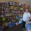 JIM VAIKNORAS/STAFF photo Kitty Gove in her store Giggles in Amesbury.