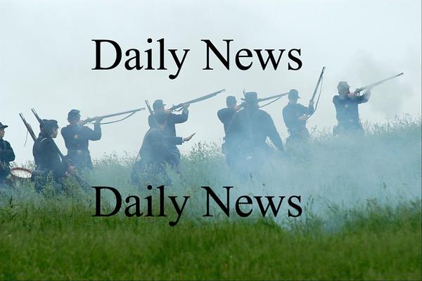 Amesbury: Amesbury Civil War encampment.<br /> Photo by Jim Vaiknoras/Newburyport Daily News. Tuesday, June 5, 2007