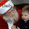 Newburyport: <br /> Ross Cooper, 4, of Boxfor talks with Santa Claus in his workshop on Inn Street.<br /> Photo by Jim Vaiknoras/Newburyport Daily News. Wednesday, December 22, 2004