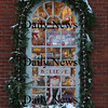 Newburyport: <br /> The window of the Dragon's Nest in market Square in Newburyport is all deck out in holiday style.<br /> Photo by Jim Vaiknoras/Newburyport Daily News. Sunday, December 11, 2005