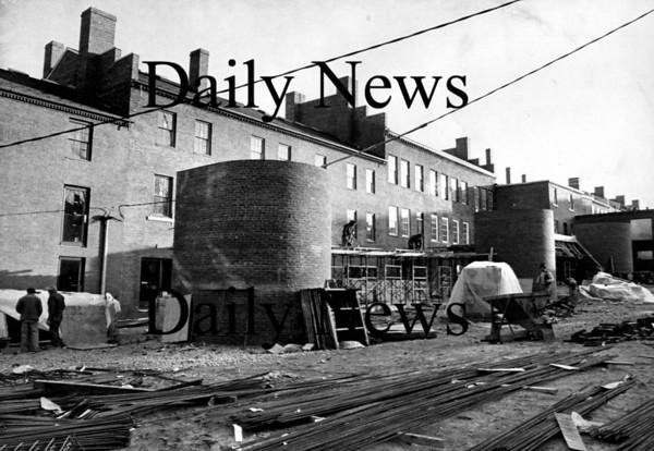 Newburyport:<br /> Inn Street Mall under construction in December 1974.<br /> Photo by Handout/Newburyport Daily News Friday, November 16, 2007