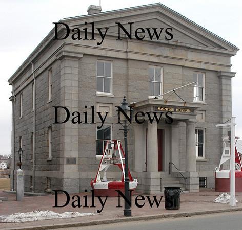 Newburyport: Custom's House on Water Street<br /> Photo by Jim Vaiknoras/Newburyport Daily News. Sunday, March 25, 2007