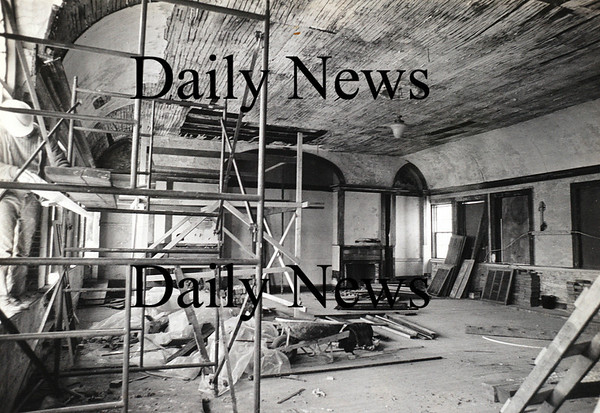 Newburyport:The Phoenix Room from being renovated in the early 1980, the room opened in 1984.<br /> Photo by Jim Vaiknoras/Newburyport Daily News Thursday, October 18, 2007