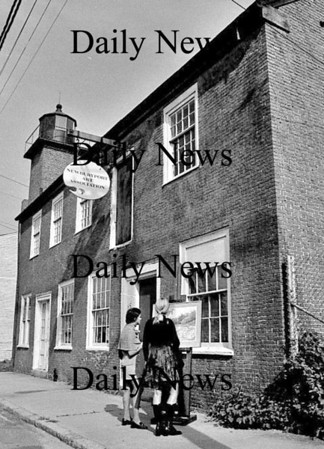 Newburyport: The Newburyport Art Association  1971.<br /> Photo by Urban Renewal/Newburyport Daily News. Wednesday, April 4, 2007