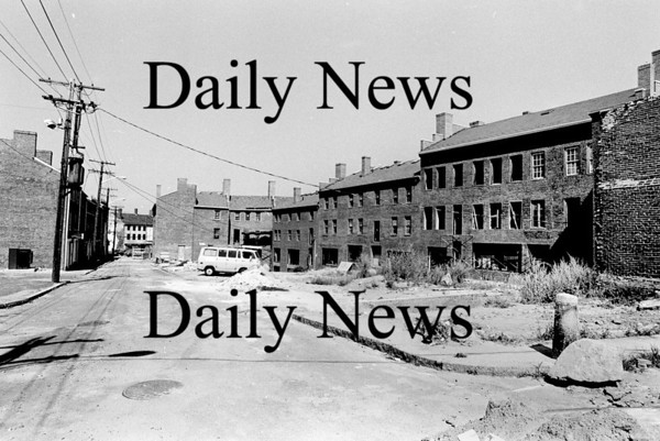Newburyport: Inn street  Aug 1974<br /> Photo by Urban Renewal/Newburyport Daily News. Tuesday, April 10, 2007