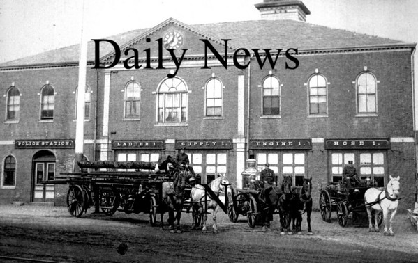 Other: Photograph of the Firehouse taken in the late 19th century.<br /> Photo by Urban Renewal/Newburyport Daily News. Wednesday, August 22, 2007