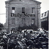 Newburyport: Trash piled up behind the Custom's House. Late 60's early 70's.<br /> Photo by Urban Renewal/Newburyport Daily News. Sunday, March 25, 2007