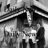 "Newburyport: <br /> A Daily News photo of the ""sale of Staab's Market Square building on the corner of State in Middle Street in front of the former State Street Candle and Mug. From left, Mayor Byron Matthews; Ed Molin, Colonial National Bank; James Lagoulis, attorney for Staab; and purchasers from Danvers, Ronald Mierzykowski, James Moon and Martin Staab<br /> Photo by Urban Renewal/Newburyport Daily News. Thursday, July 19, 2007"