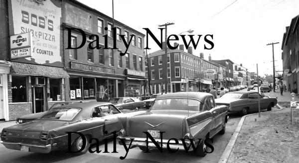 Newburyport: Illegal Parking on Nubbins 1974<br /> Photo by Urban Renewal/Newburyport Daily News. Wednesday, June 13, 2007
