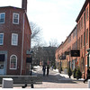 Newburyport: Looking up State Street from Merrimack Street.<br /> Photo by Jim Vaiknoras/Newburyport Daily News. Monday, March 12, 2007
