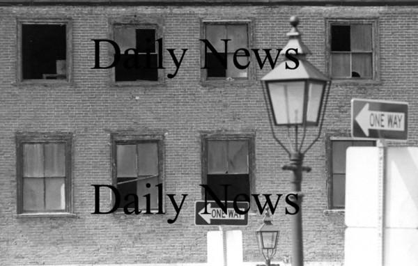 Newburyport: Market Square Duggan Building August 1976<br /> Photo by Urban Renewal/Newburyport Daily News. Sunday, April 1, 2007