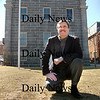 Newburyport: <br /> The back of the Custom House Museum as it looks today with new head Mark Guay.<br /> Photo by Bryan Eaton/Newburyport Daily News. Thursday, March 29, 2007